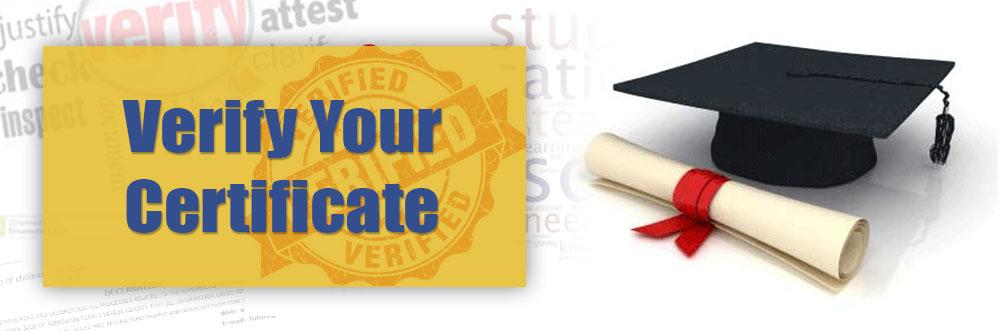 certificate verify